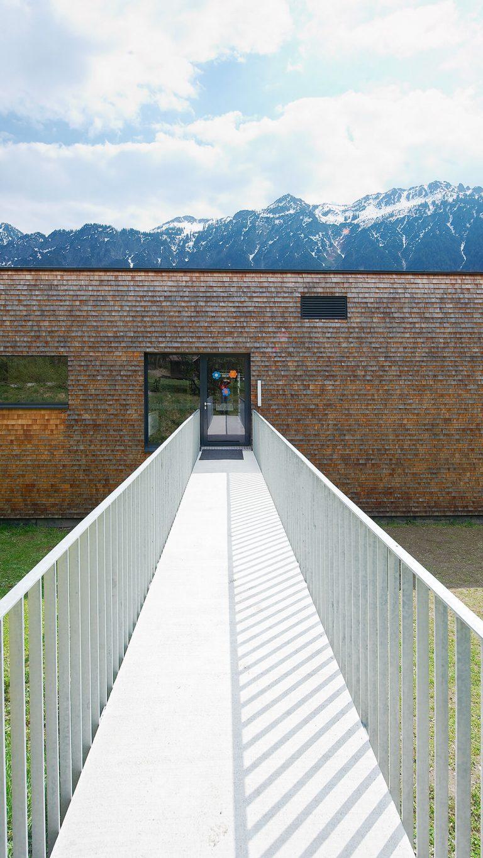 Erweiterungsbau Kindergarten und Turnhalle Außerbraz