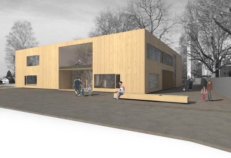 Wettbewerb Kindergarten Rheindorf