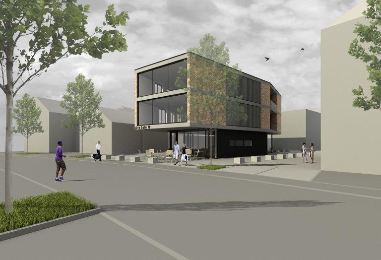 Wettbewerb Wohn- und Geschäftsgebäude Raiffeisenstraße